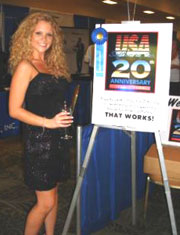 Joanna at 20th anniversay