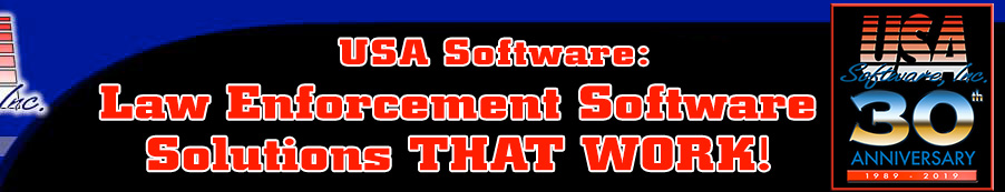 USA Software: Law Enforcement Software THAT WORKS!